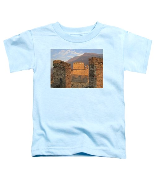 Toddler T-Shirt featuring the photograph Montebello - Bellinzona, Switzerland by Travel Pics