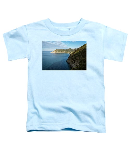 Monterosso And The Cinque Terre Coast Toddler T-Shirt