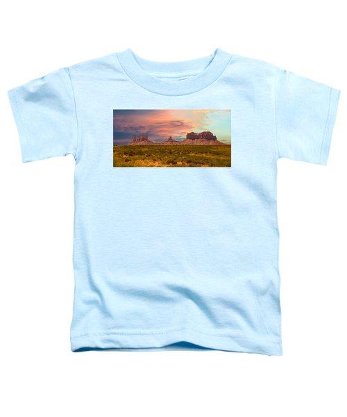 Monument Valley Landscape Vista Toddler T-Shirt