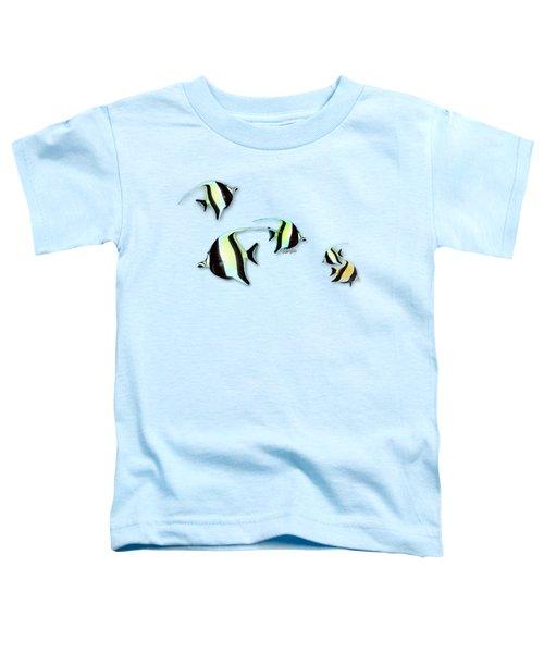 Moorish Idols - Tropical Fish Toddler T-Shirt