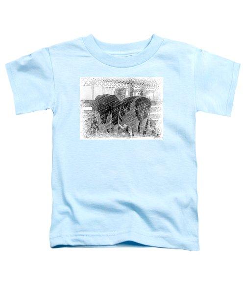 Moo...ving At The County Fair Toddler T-Shirt