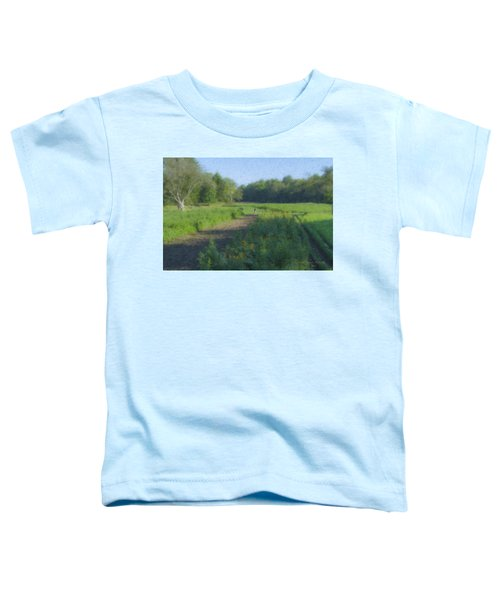 Morning Walk At Langwater Farm Toddler T-Shirt