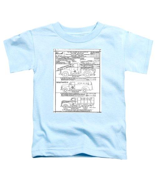 Motor Vehicles Toddler T-Shirt