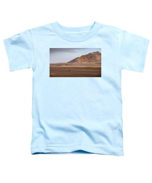 Motorcycles In Persian Desert Toddler T-Shirt