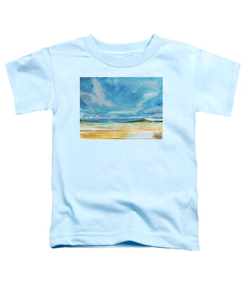 View Of Mount Wellington From South Bruny Island Toddler T-Shirt