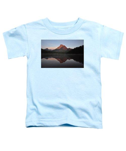 Mount Wilbur, Glacier National Park Toddler T-Shirt