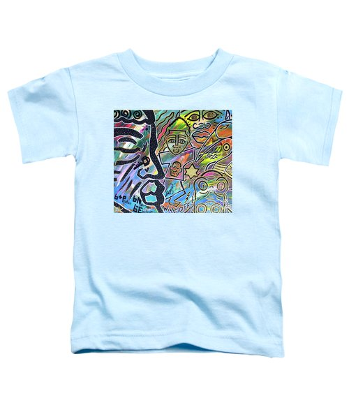 Multi-dimensional Beings Stepping Out The Body Walking Through The Cosmos Toddler T-Shirt