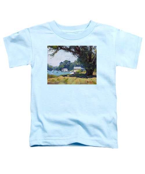 My Demonstration At Plein Air Workshop At Mayors Park Toddler T-Shirt