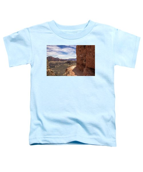 Narrow Trail On The South Kaibab Trail, Grand Canyon Toddler T-Shirt