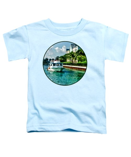 Bahamas - Ferry To Paradise Island Toddler T-Shirt
