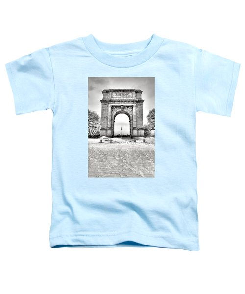 National Memorial Arch In Winter Toddler T-Shirt