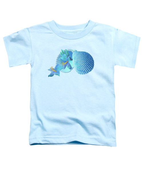 Nature's Gems In A Blue Mood Toddler T-Shirt