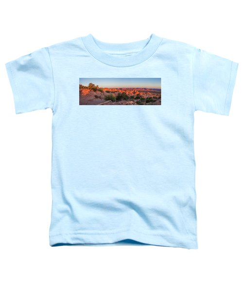 Navajo Land Morning Splendor Toddler T-Shirt