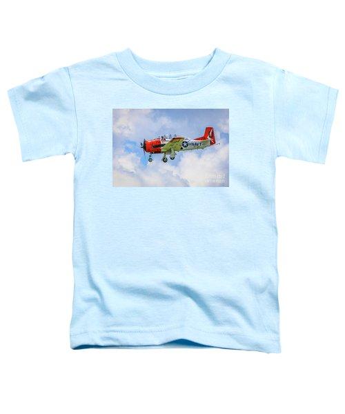 Navy Trainer #2 Toddler T-Shirt