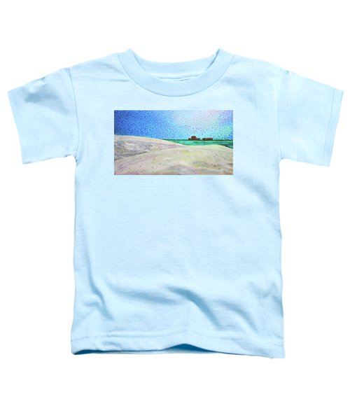 New Smyrna Beach As Seen From A Dune On Ponce Inlet Toddler T-Shirt