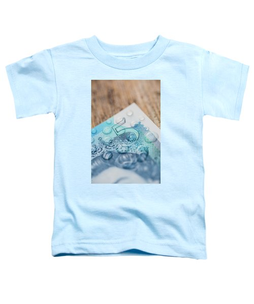 New Uk Five Pound Note Toddler T-Shirt
