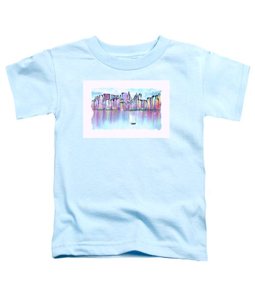 New York City Scape Toddler T-Shirt