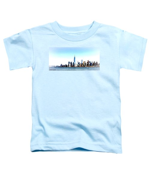 New York City Skyline Toddler T-Shirt
