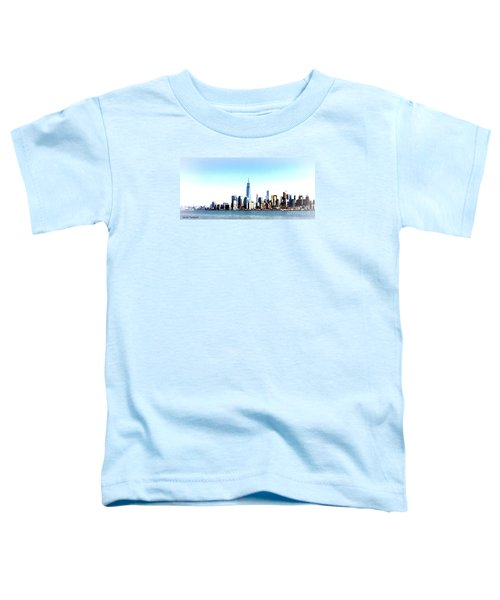 New York City Skyline Toddler T-Shirt