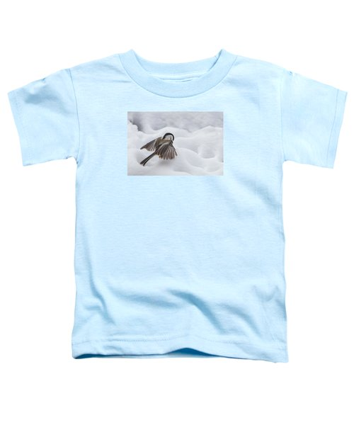 Chickadee - Wings At Work Toddler T-Shirt
