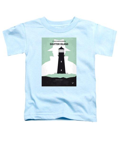 No513 My Shutter Island Minimal Movie Poster Toddler T-Shirt