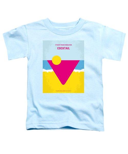 No603 My Cocktail Minimal Movie Poster Toddler T-Shirt