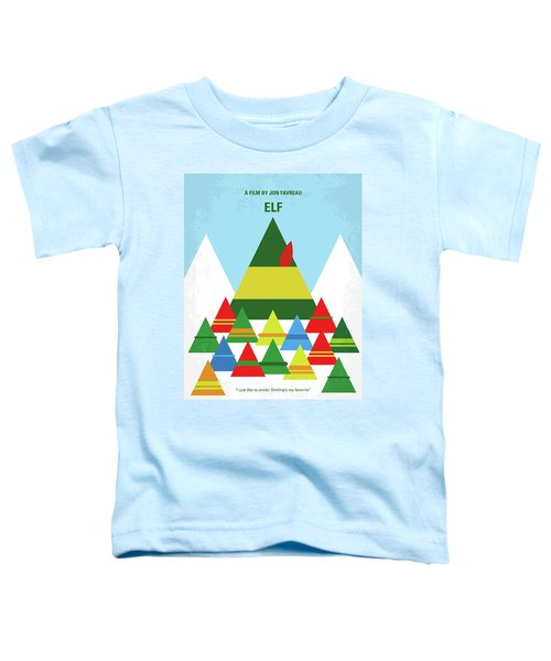 No699 My Elf Minimal Movie Poster Toddler T-Shirt