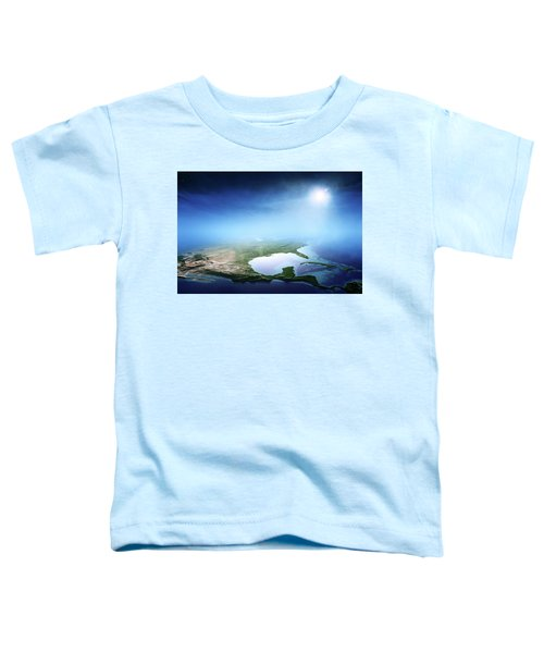 North America Sunrise Aerial View Toddler T-Shirt