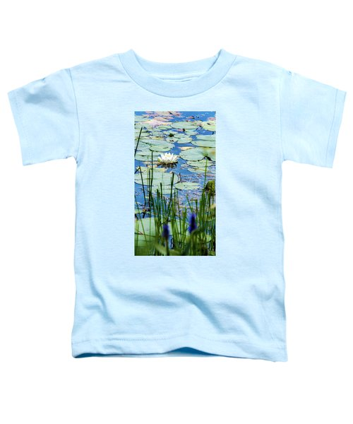 North American White Water Lily Toddler T-Shirt