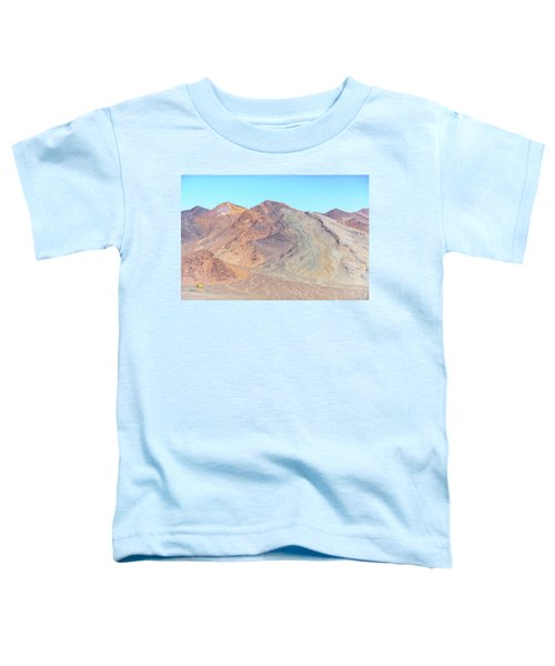 Toddler T-Shirt featuring the photograph North Of Avawatz Mountain by Jim Thompson