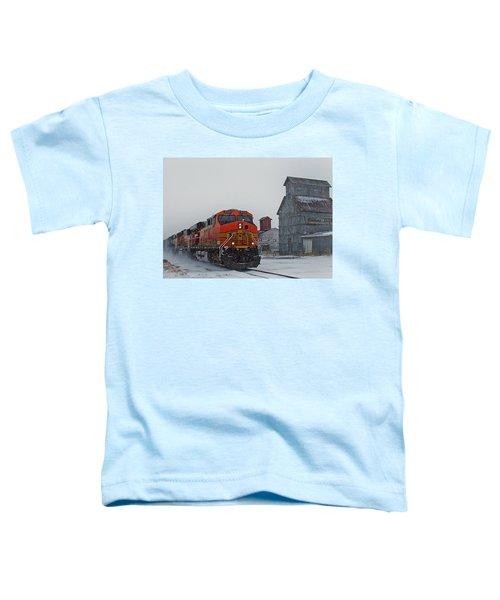 Northbound Winter Coal Drag Toddler T-Shirt