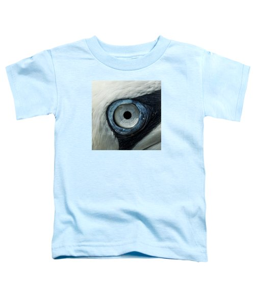 Northern Gannet Eye Toddler T-Shirt