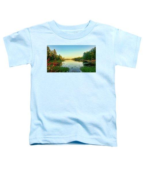 Northern Ontario Lake Toddler T-Shirt