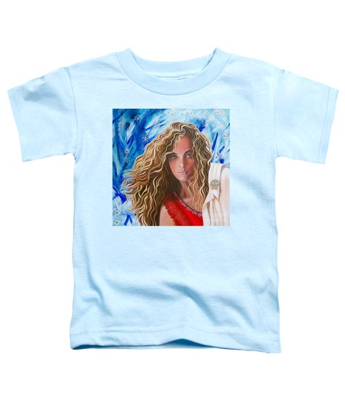 Navigating  Norwegian Girl             From The Attitude Girls  Toddler T-Shirt