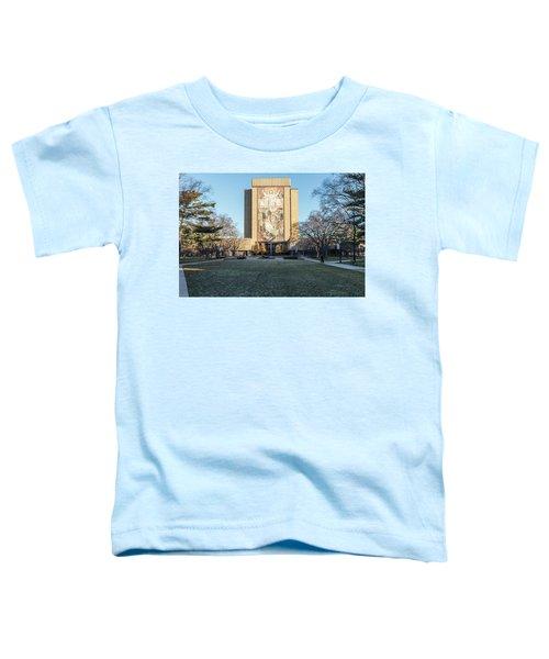 Notre Dame Touchdown Jesus  Toddler T-Shirt