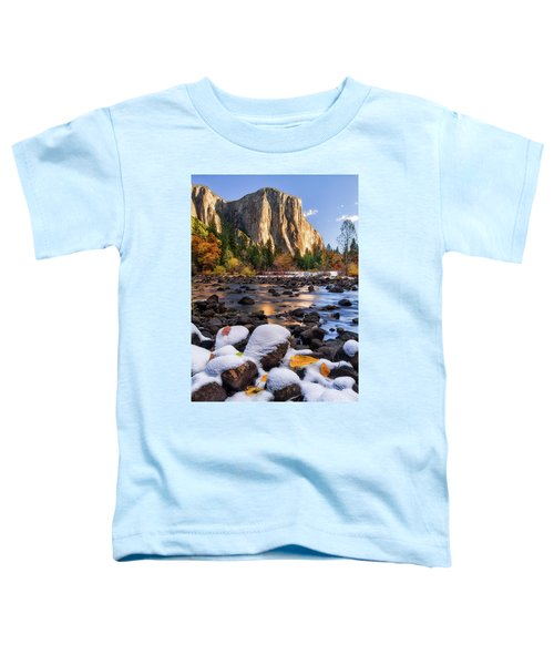 November Morning Toddler T-Shirt by Anthony Michael Bonafede