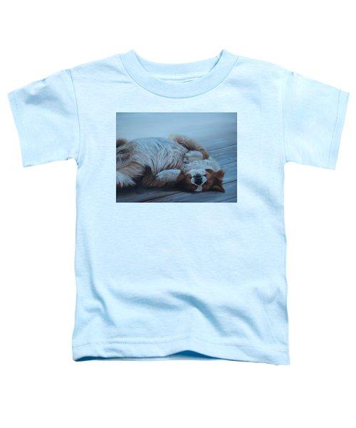 Dog Gone Tired Toddler T-Shirt