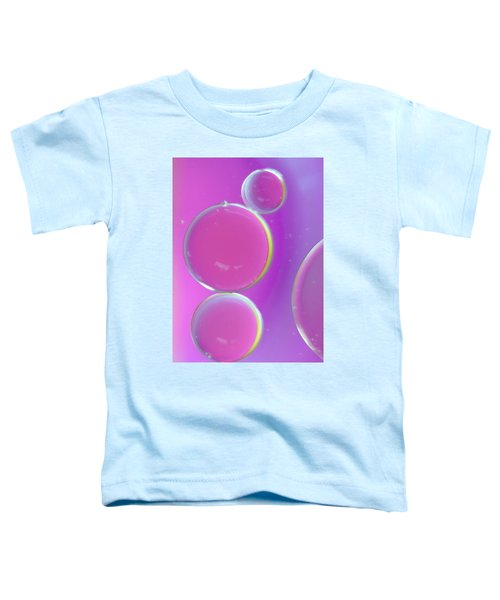 Oil On Water Abstract Toddler T-Shirt