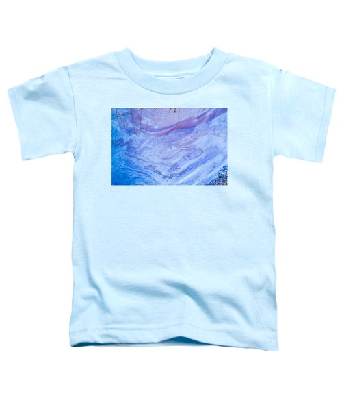 Oil Spill On Water Abstract Toddler T-Shirt