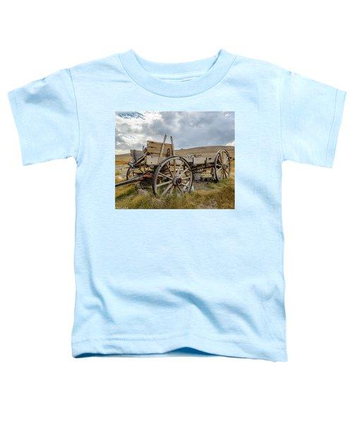 Old Buckboard Wagon Toddler T-Shirt