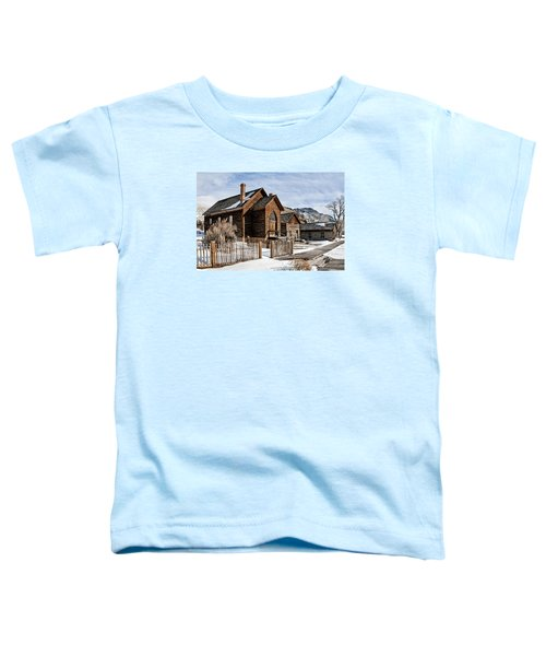 Old Church Toddler T-Shirt
