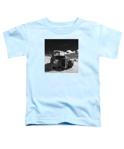 Old Farm Truck Infrared Toddler T-Shirt