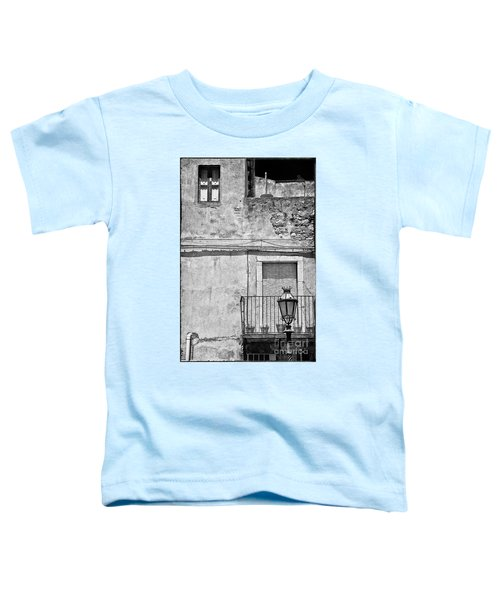 Old House In Taormina Sicily Toddler T-Shirt by Silvia Ganora