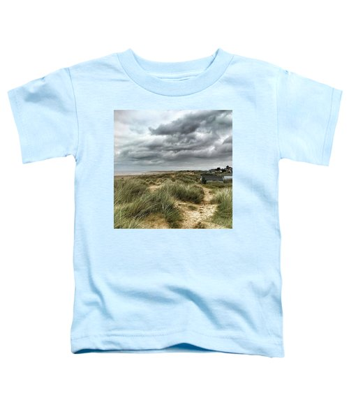 Old Hunstanton Beach, North #norfolk Toddler T-Shirt