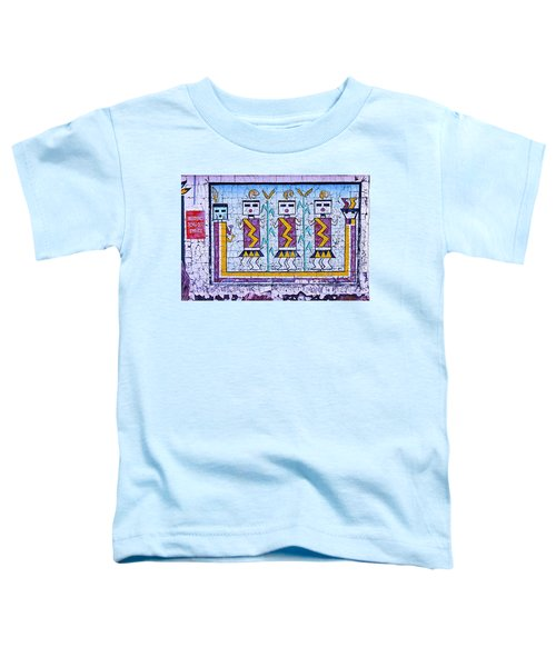 Old Indian Mural Toddler T-Shirt