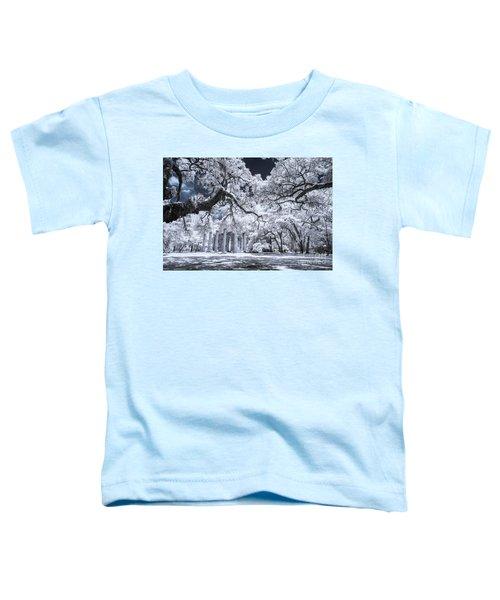 Old Sheldon Church In Infrared Toddler T-Shirt