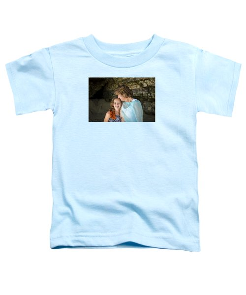 Olivia And Toni Toddler T-Shirt by Alex Lapidus