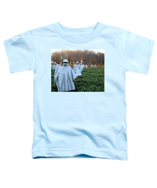 On Patrol The Korean War Memorial Toddler T-Shirt