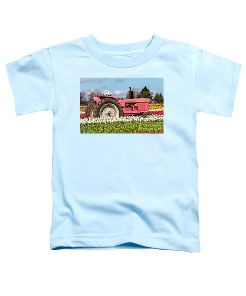 On The Field Of Beauty Toddler T-Shirt