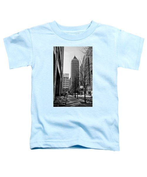 One Atlantic Center In Black And White Toddler T-Shirt